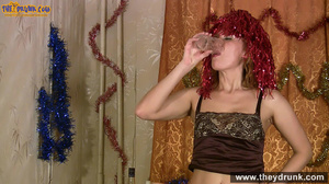 Easygoing mature woman gets naked during at christmastime - XXXonXXX - Pic 11
