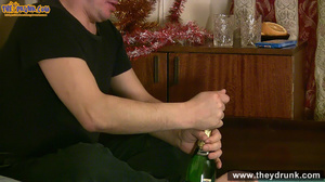 Chubby blond gets fucked at Christmas - XXXonXXX - Pic 1