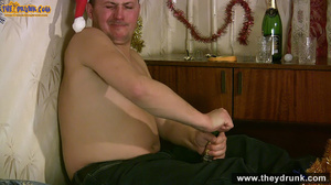 Chubby blond gets fucked at Christmas - XXXonXXX - Pic 8