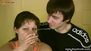 Teen couple has some drinks then they end up in petting - XXXonXXX - Pic 5