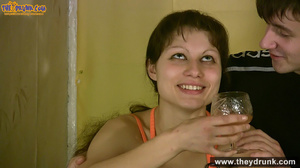 Teen couple has some drinks then they end up in petting - XXXonXXX - Pic 8