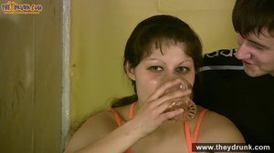 Teen couple has some drinks then they end up in petting - XXXonXXX - Pic 9