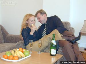 Hot big breasted secretary in stocking sucks and fucks her boss - XXXonXXX - Pic 3