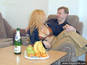 Hot big breasted secretary in stocking sucks and fucks her boss - XXXonXXX - Pic 5