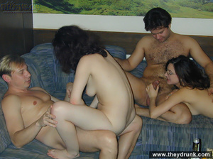 Hot swinger foursome, fucking, cock-riding, doggystyle - XXXonXXX - Pic 10