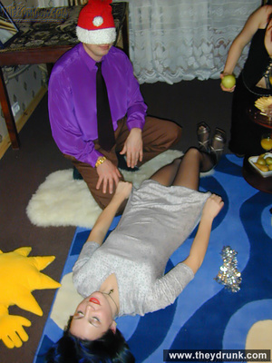 Guy plays with two horny girls at christmas - XXXonXXX - Pic 5