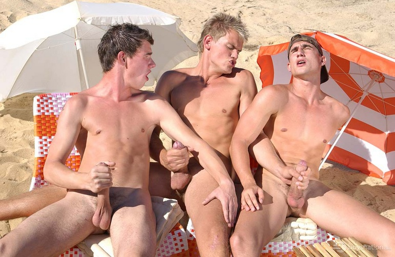 Gay nude beach sex