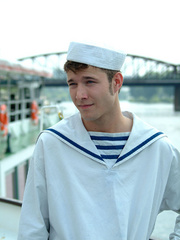 Three young gay boys in sailors - Sexy Women in Lingerie - Picture 1