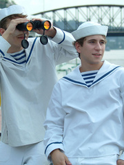 Three young gay boys in sailors - Sexy Women in Lingerie - Picture 4