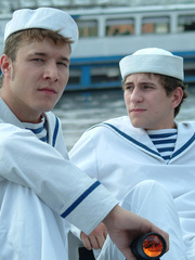 Three young gay boys in sailors - Sexy Women in Lingerie - Picture 7