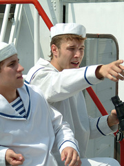 Three young gay boys in sailors - Sexy Women in Lingerie - Picture 8