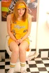 One of the Hot Redheads in yellow cappie provided…