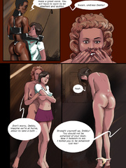 That ebony cartoon sex geisha is an imperious babe - Picture 7