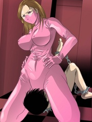 Here nude cartoon female victims are humiliated in - Picture 1