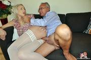 her blonde forms tender