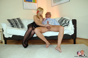 That slick and thin blonde with little t - XXX Dessert - Picture 9