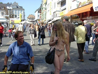 gawking naked public attractions