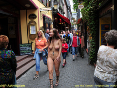 Her being nude in public caused a - Sexy Women in Lingerie - Picture 1