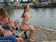 Some nude in public sauntering on - Sexy Women in Lingerie - Picture 2