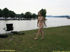 Some nude in public sauntering on - Sexy Women in Lingerie - Picture 12