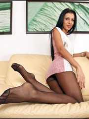So what is she is a pantyhose porn - Sexy Women in Lingerie - Picture 4