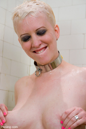 Some sado-maso Girls Pissing Their Panties when compelled to by BDSM masters - XXXonXXX - Pic 15
