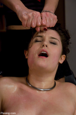 Grasped and driven to women pissing by the group of insatiable BDSM lesbians - XXXonXXX - Pic 7