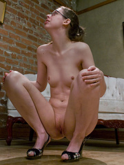 Chestnut curly hairy nasty drinking peeing and - XXXonXXX - Pic 14