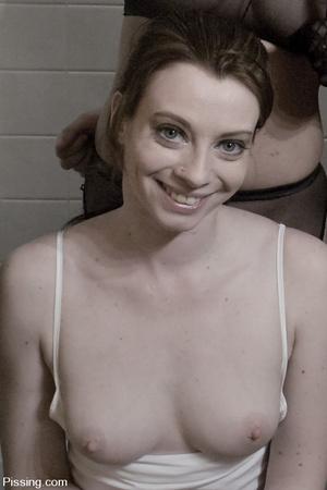 I wonder how four go  ldenshower-minded lezzos can do in the bathroom - XXXonXXX - Pic 1