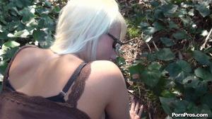 Pretty blonde was thanked for public blowjob through raunchy doggy fuck! - XXXonXXX - Pic 10