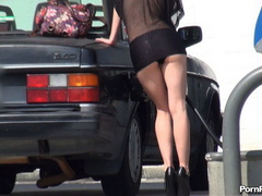 Cute dress adrenalizes all angels of public sex in - XXXonXXX - Pic 2