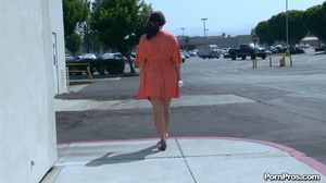 Making her naked in public right in the street in front of all her friends! - XXXonXXX - Pic 7