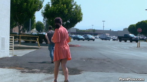 Making her naked in public right in the street in front of all her friends! - XXXonXXX - Pic 13