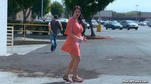 Making her naked in public right in the street in front of all her friends! - XXXonXXX - Pic 14