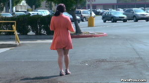 Making her naked in public right in the street in front of all her friends! - XXXonXXX - Pic 16
