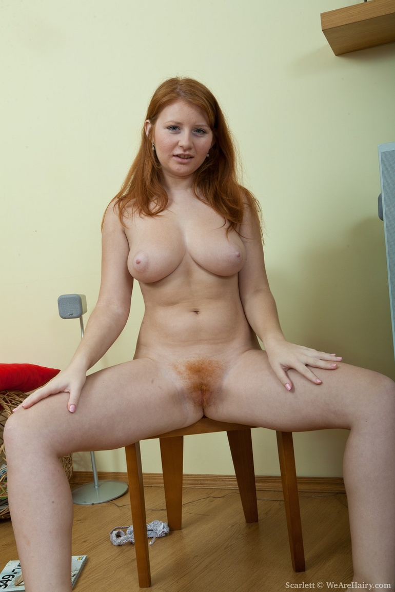 Pussy Natural red head