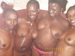 Happy and contended with their ebony porn titties and - Picture 5