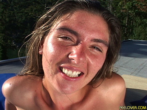 Some women pissing upon comely faces of other sweethearts - XXXonXXX - Pic 1