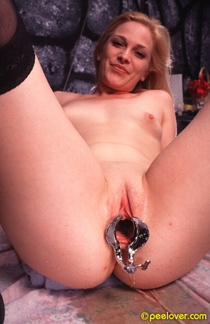 Get that tool out of your thing in order to pee in a normal way! - XXXonXXX - Pic 14