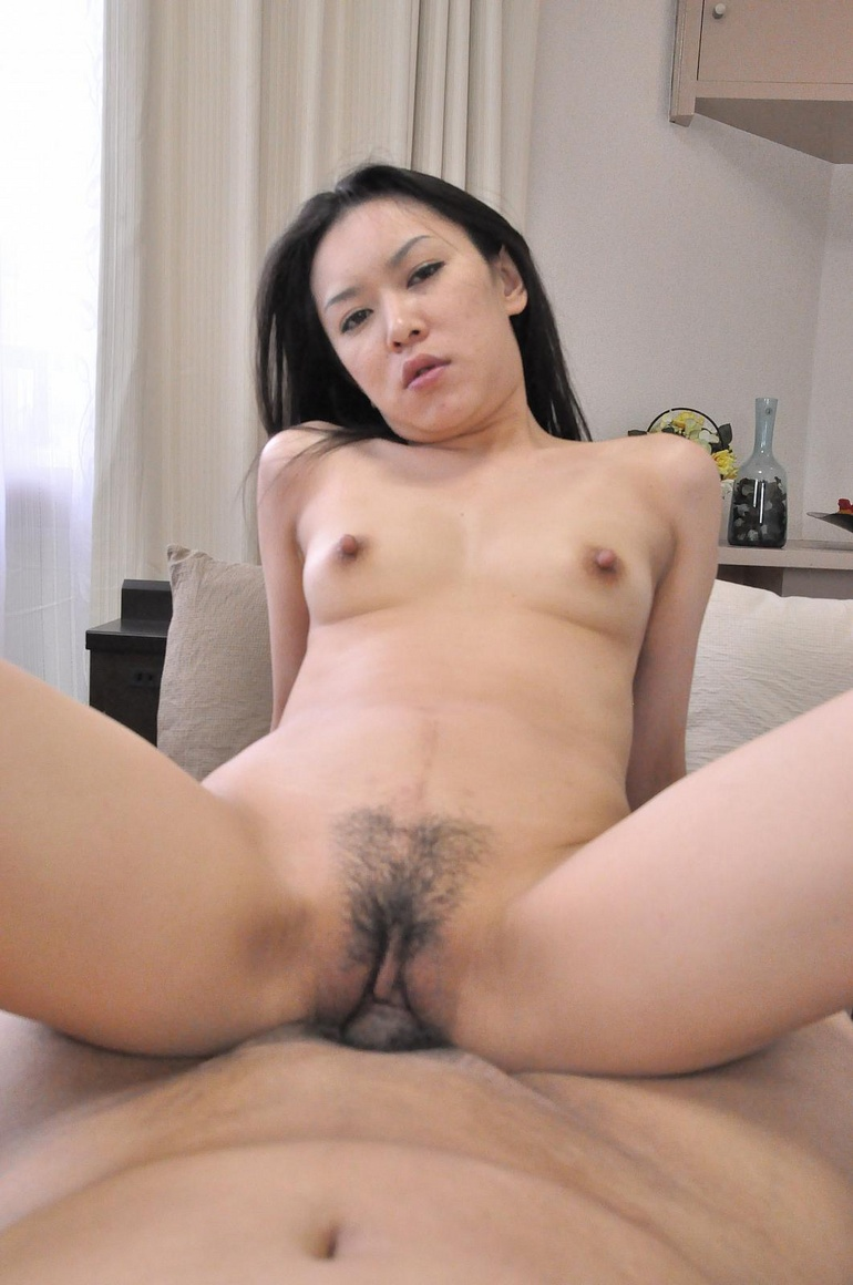 Sexy chinese milf and older white man have bareback sex on webcam 7