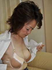 Horny asian granny with hairy - Sexy Women in Lingerie - Picture 2