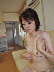Horny asian granny with hairy - Sexy Women in Lingerie - Picture 3