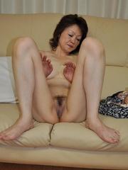 Horny asian granny with hairy - Sexy Women in Lingerie - Picture 5