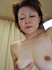Horny asian granny with hairy - Sexy Women in Lingerie - Picture 8