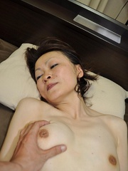 Horny asian granny with hairy - Sexy Women in Lingerie - Picture 9