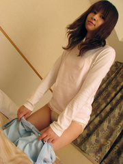 Bushy pussy japanese girl taking - Sexy Women in Lingerie - Picture 2