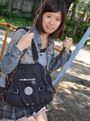 Dark haired asian teen girl slips - Sexy Women in Lingerie - Picture 1