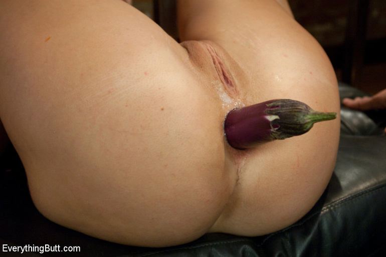 Vaginal vegetable insertion