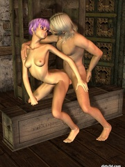 Hot sex anime with short haired babe - Cartoon Sex - Picture 4