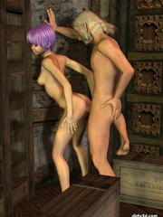 Hot sex anime with short haired babe - Cartoon Sex - Picture 9
